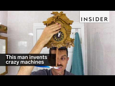 Man Invents Elaborate Machines For Everyday Life