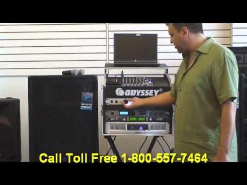 Custom Karaoke System PC Karaoke and DJ Laptop Mobile Road Case