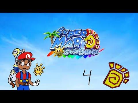 Mario Sunshine blind 4 poison water flip-flop