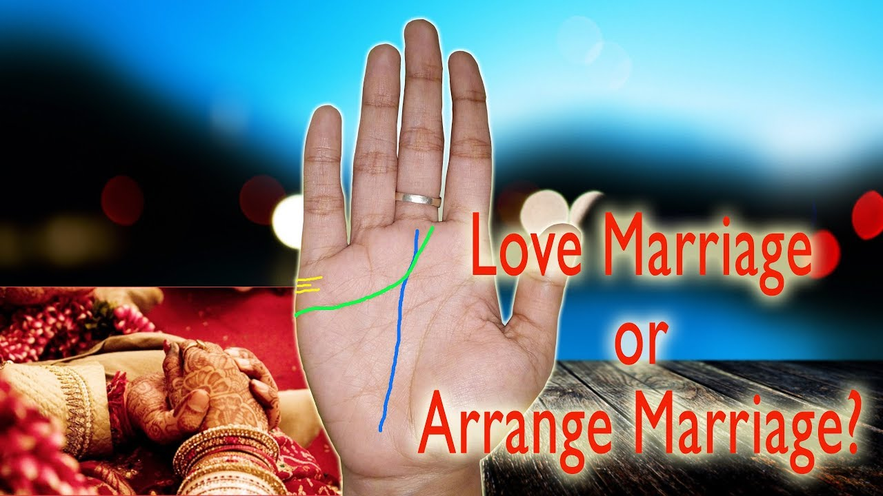Marriage Line In Hand Palm Reading Marriage Youtube