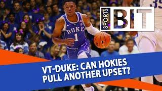 Virginia Tech Hokies at Duke Blue Devils | Sports BIT | NCAAB Picks