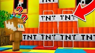 TNT CAMO TROLL IN MINECRAFT!