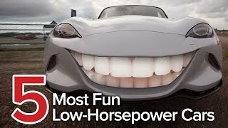 5 Most Fun Low-Horsepower Cars: The Short List