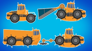 Transformer | Mesh Truck | Cutter Truck | Garbage Disposer Vehicle For Kids | Cartoons Videos