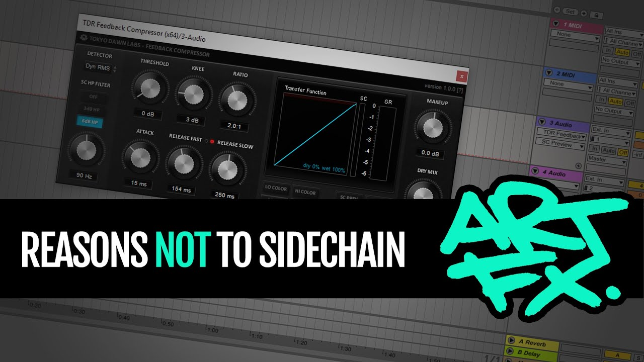 how to use sidechain ableton