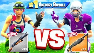 ROCK Paper SCISSORS *NEW* SHOTGUN Game Mode in Fortnite Battle Royale