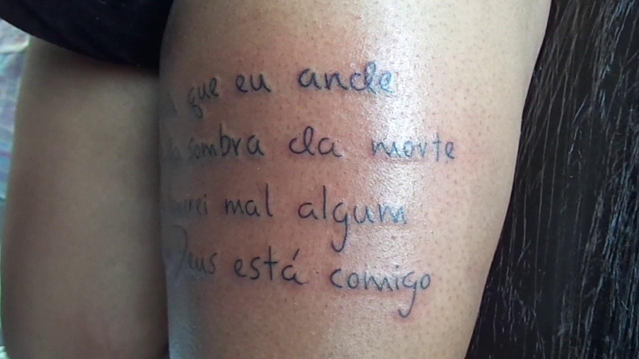Tatuagem De Frases Religiosa By Tatu Tattoo 22