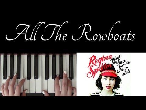 How To Play: All The Rowboats  Regina Spektor