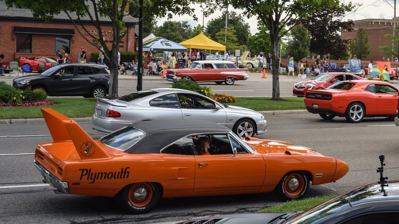 2017 Woodward Dream Cruise Highlights