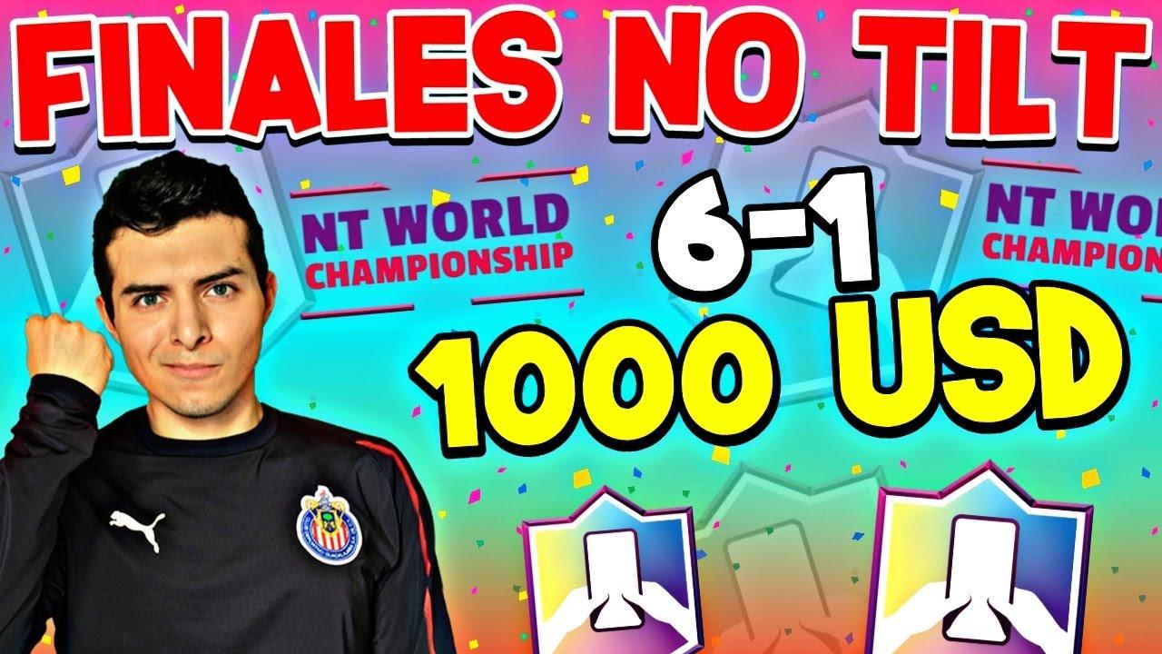 ASÍ GANE LA FINAL POR 1000 DOLARES💲💵 EXPLICO MIS MAZOS DE LA NTWC DE Clash Royale- Adrian Piedra