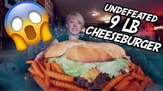 UNDEFEATED 9LB BIG DADDY BURGER CHALLENGE