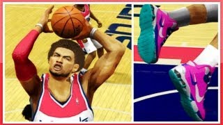 Game | NBA 2K14 How To CREATE Your Own Signature Shoe In NBA 2K14 Using The Shoe Creator SuperCam 3 s | NBA 2K14 How To CREATE Your Own Signature Shoe In NBA 2K14 Using The Shoe Creator SuperCam 3 s