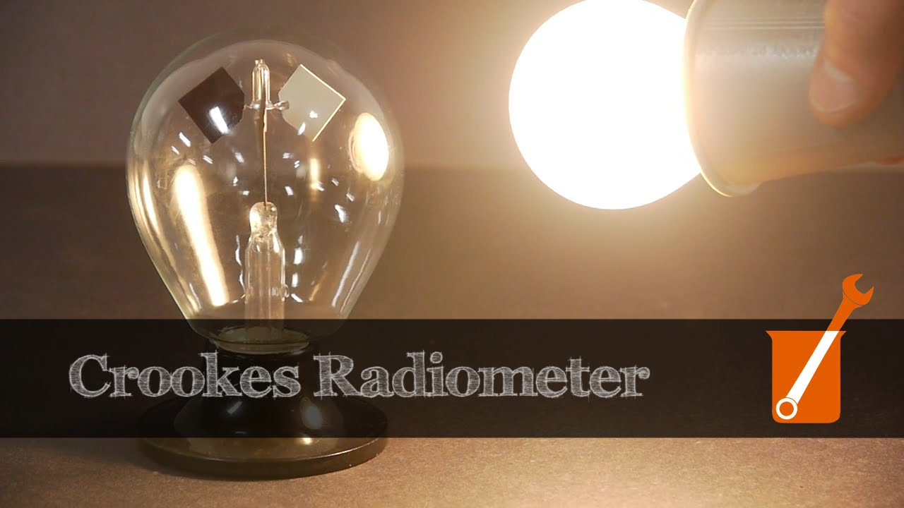Download How a Crookes radiometer works