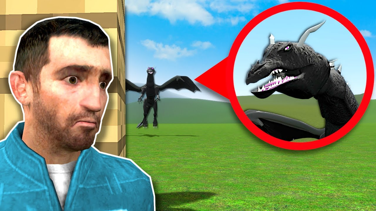 Download CURSED MINECRAFT ENDER DRAGON IS AFTER ME! - Garry's Mod Gameplay