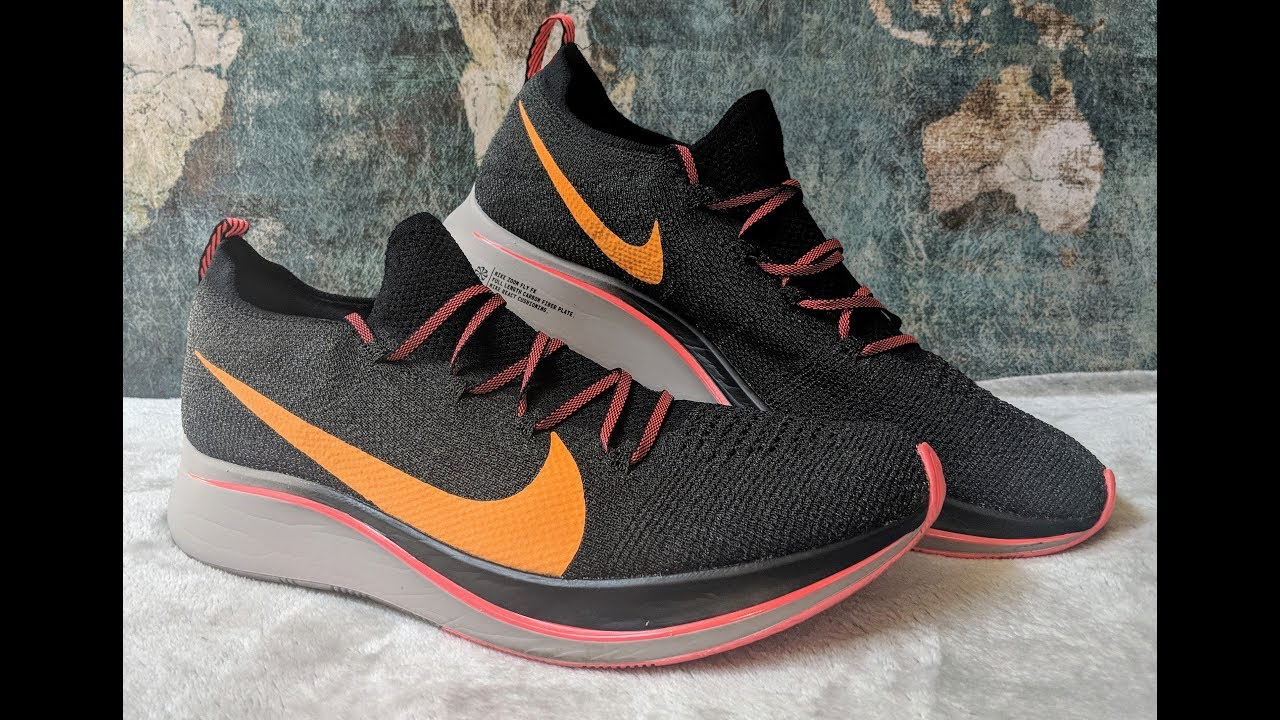 half off b198a 4e38d NIKE ZOOM FLY FLYKNIT - Shoe Review (BEST SHOE OF 2018 SO FAR )