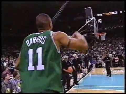 Dana Barros vs. Steve Kerr - 1996 NBA 3pt. Shootout