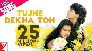 Download Tujhe Dekha Toh - Full Song | Dilwale Dulhania Le Jayenge | Shah Rukh Khan | Kajol MP3 song and Music Video