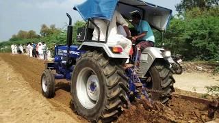 farmtrac 6060 ट्रैक्टर ने जीता 1st ईनाम सिम्पल ट्रैक्टर बिना टायर में पानी