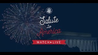 THE PRESIDENT delivers remarks at Salute to America, Lincoln Memorial, July 4th 2019