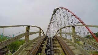 Thunderhawk Wooden Roller Coaster POV 60 FPS Dorney Park, PA