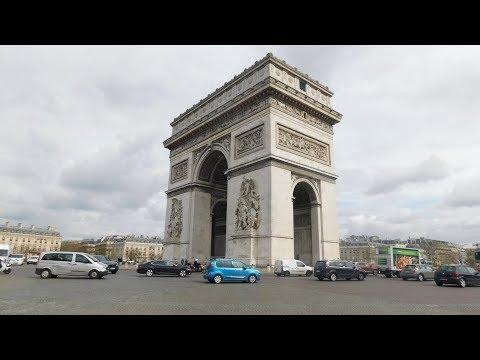 Inside The Arc de Triomphe, Paris! (2019)