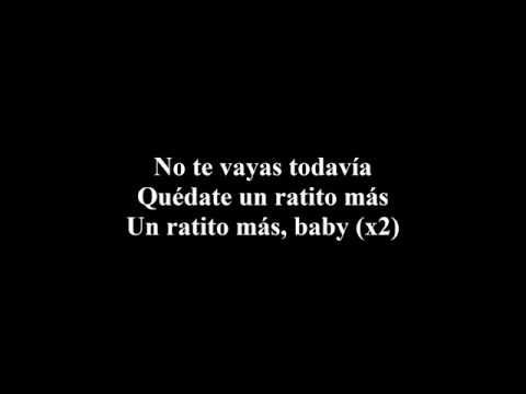 Ratito Más - Bryant Myers Ft Bad Bunny  LETRA MUSIC