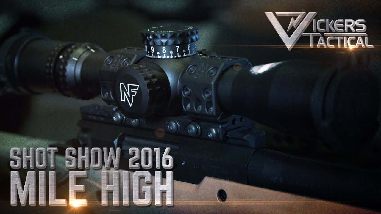 Shot Show 2016: Mile High Shooting Accessories