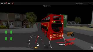Roblox London & West V1 Enviro 400H LU RATP Start einer Route H98 von Hounslow nach Hayes End