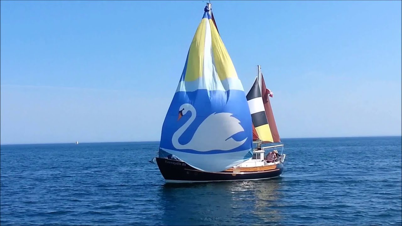 Fisher 34, Motorsailer Sailing Lake Ontario, Canada