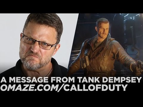 Official Call of Duty: Black Ops 3 - Special Message from Tank Dempsey // Omaze
