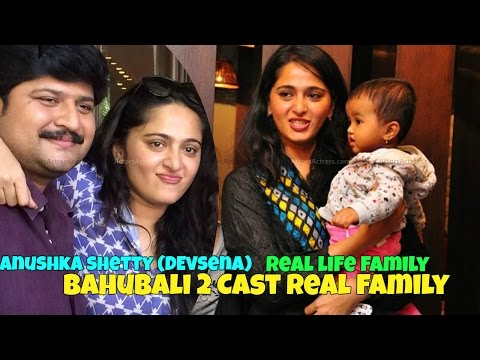 Thumbnail: Bahubali 2 Actors real life families | Bahubali Actor Prabhas With Real family