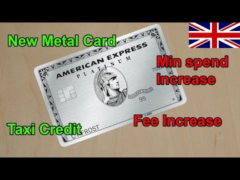 UK Amex Platinum Adds Metal Card + Upgrades