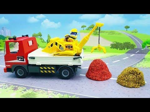 Мультфильмы для детей про игрушечные машинки - Камнерубка Ромео! Машины мультики смотреть онлайн.