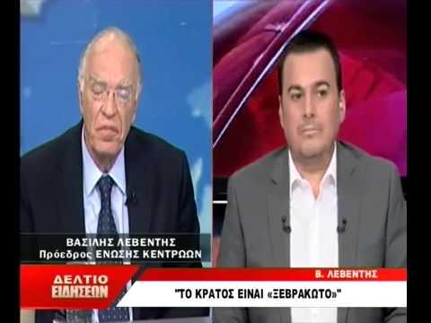 ΒΑΣΙΛΗΣ  ΛΕΒΕΝΤΗΣ  στο  Δελτίο της ΝΕΤ TV   07/08/2015