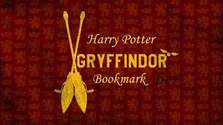 Harry Potter bookmark DIY !