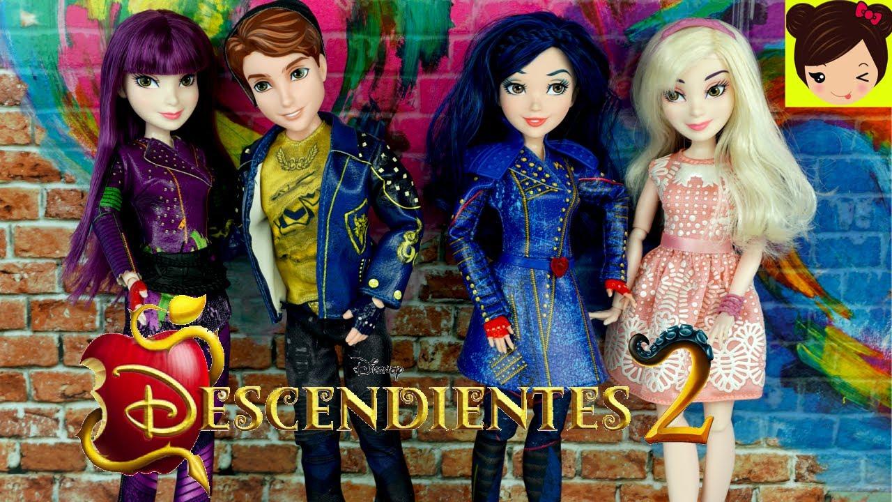 Muñecas de la Pelicula Los Descendientes 2 en Español - Mal Rubia ...