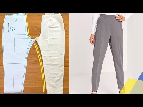 [UPDATED] LEARN HOW TO MAKE WOMEN'S TROUSER PATTERNS | KIM DAVE