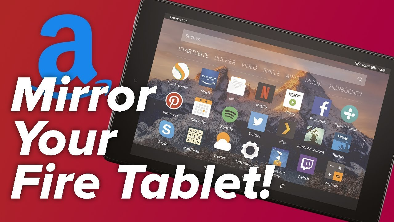 How to Mirror Your Fire Tablet to Your TV!