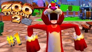Parque Dos Dinossauros | Zoo Tycoon 2 : Extinct Animals (#1) (Gameplay/PT-BR)