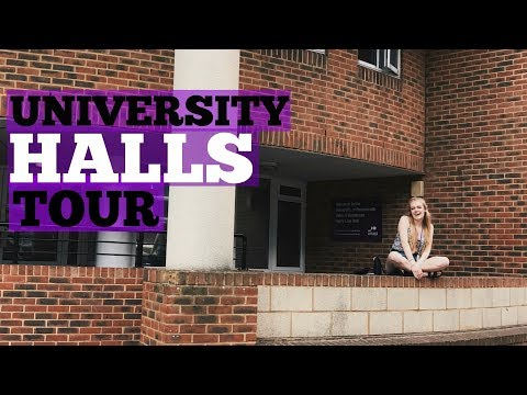 University Halls of Residence Tour   Kirsty Pickett
