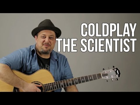 Coldplay - The Scientist Super Easy Acoustic Guitar Lesson - Easy Beginner Songs For Guitar