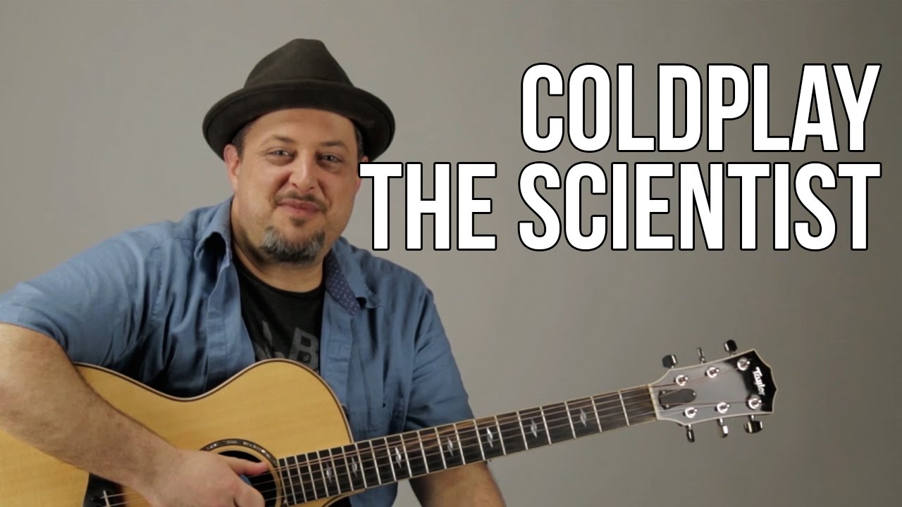 Coldplay The Scientist Super Easy Acoustic Guitar Lesson Easy