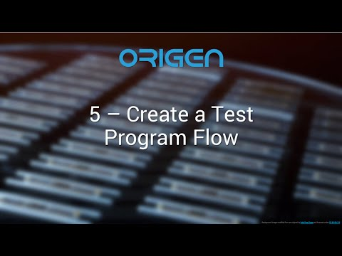 5 Create a Test Program Flow for Multiple ATEs