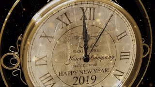 New Year Countdown Clock 2019 Happy New Year