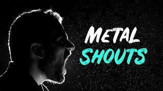 Free Metal Acapella Vocals For Dubstep | Inspired by Sullivan King, PhaseOne & Ivory