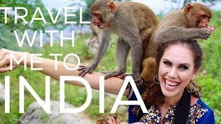 🇮🇳 He Took A Shower On The Freeway | INDIA VLOG! | Cassandra Bankson thumbnail
