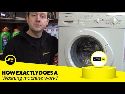 How a Washing Machine Works