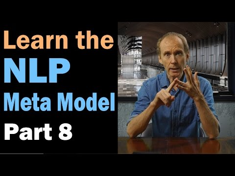 Learn the NLP Meta Model for a Peaceful World: Universal Quantifier. Part 8/12