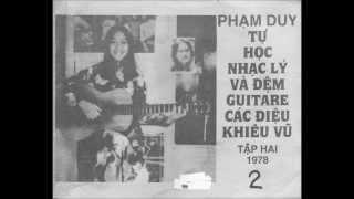 Tập đệm guitar điệu Paso Doble  DỪNG BỨỚC GIANG HỒ by n/s Phạm Duy 1978