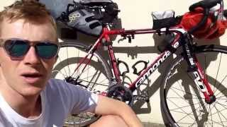 Lightweight Bike Packing for Bike touring